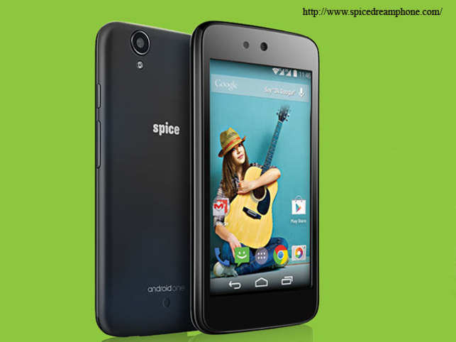 The device, Spice Dream Uno H Android One Phone, has been especially designed for the 300 million Hindi speaking people.