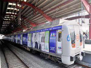 Earlier, the DMRC had inducted the first-ever train with ads wrapped on its exterior on Dwarka-Vaishali route of Blue Line that is Line 3/4.