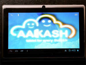 The Aakash-IV tablet project was started by former Telecom and HRD Minister Kapil Sibal in the UPA government with the objective of spreading education.