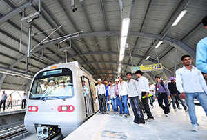 The head of DMRC, Mangu Singh, said the Metro helped save Rs 10,364 crore in fuel, time saved in commuting and other benefits.
