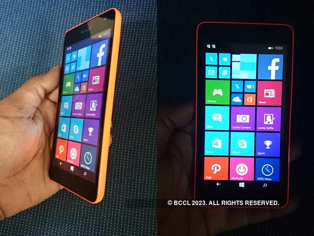 ET Review: Microsoft Lumia 535 - ET Review: Microsoft Lumia