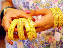 At the Multi Commodity Exchange, gold for delivery in far-month February next year contracts was up by Rs 101, or 0.38 per cent.