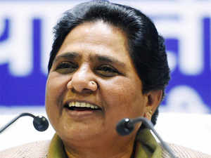 """Mayawati said crores of rupees were being diverted for """"Saifai Mahotsav"""" even as several lives were lost due to cold in Uttar Pradesh."""