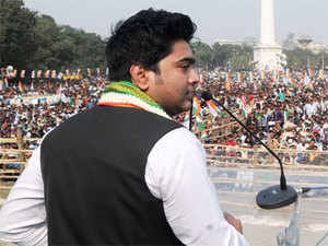 West Bengal Chief Minister Mamata Banerjee's nephew and party MP Abhishek Banerjee was today slapped by a party worker during a rally at Chandipur in East Midnapore district