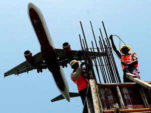 TheGMRGroup has the right of first refusal (RoFR) for any airport that is built within a 150-km radius of the existing airport in Delhi.