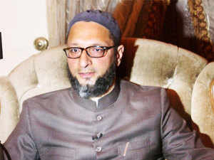 """""""Islam is the real home of all religions. There is no forced conversion in Islam. It is you who need to come home, but we can't give you money for that,"""" the Hyderabad MP said on Saturday night."""