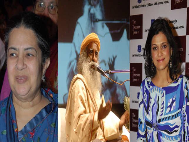 Industrialist Kumar Mangalam Birla's mother, Rajashree Birla and wife, Neerja will be sharing the stage with Sadhguru.