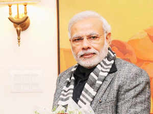 Prime Minister Narendra Modi today expressed grief over the bus mishap in Andhra Pradesh and condoled the loss of lives in it.