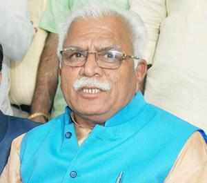 "Law and order situation in Haryana ""worrisome"", Khattar"