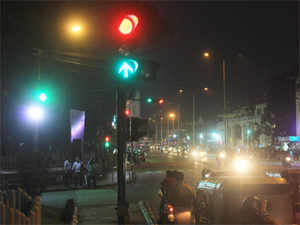 Intelligent traffic lighting system which responds to volume of vehicular and pedestrian traffic is likely to be soon introduced in Delhi.