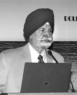 Rear Admiral Kirpal Singh (Rtd), Chairman of Dolphin Offshore Enterprises