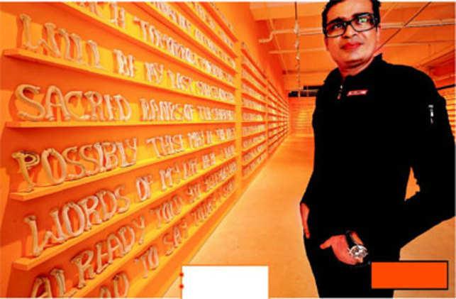 Management by brush stroke: Jitish Kallat