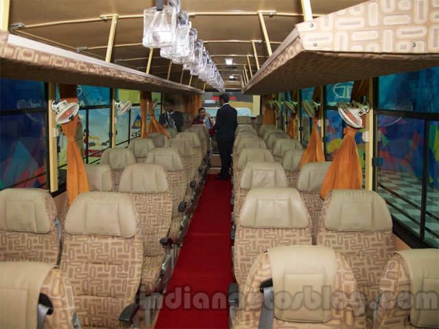 Tata Luxury Bus, Starbus Ultra AC, Starbus Urban Articulated