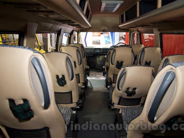 Traveller 26 seater - Force Super Luxury Traveller showcased