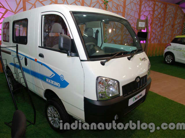 Maxximo Can Run 100 Km On A Full Charge Mahindra Maxximo Will Now