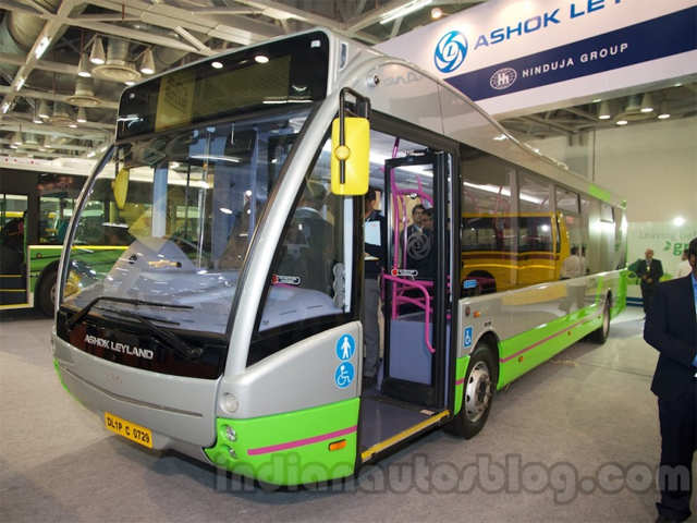 144 km on a single charge - Ashok Leyland Optare Versa EV electric