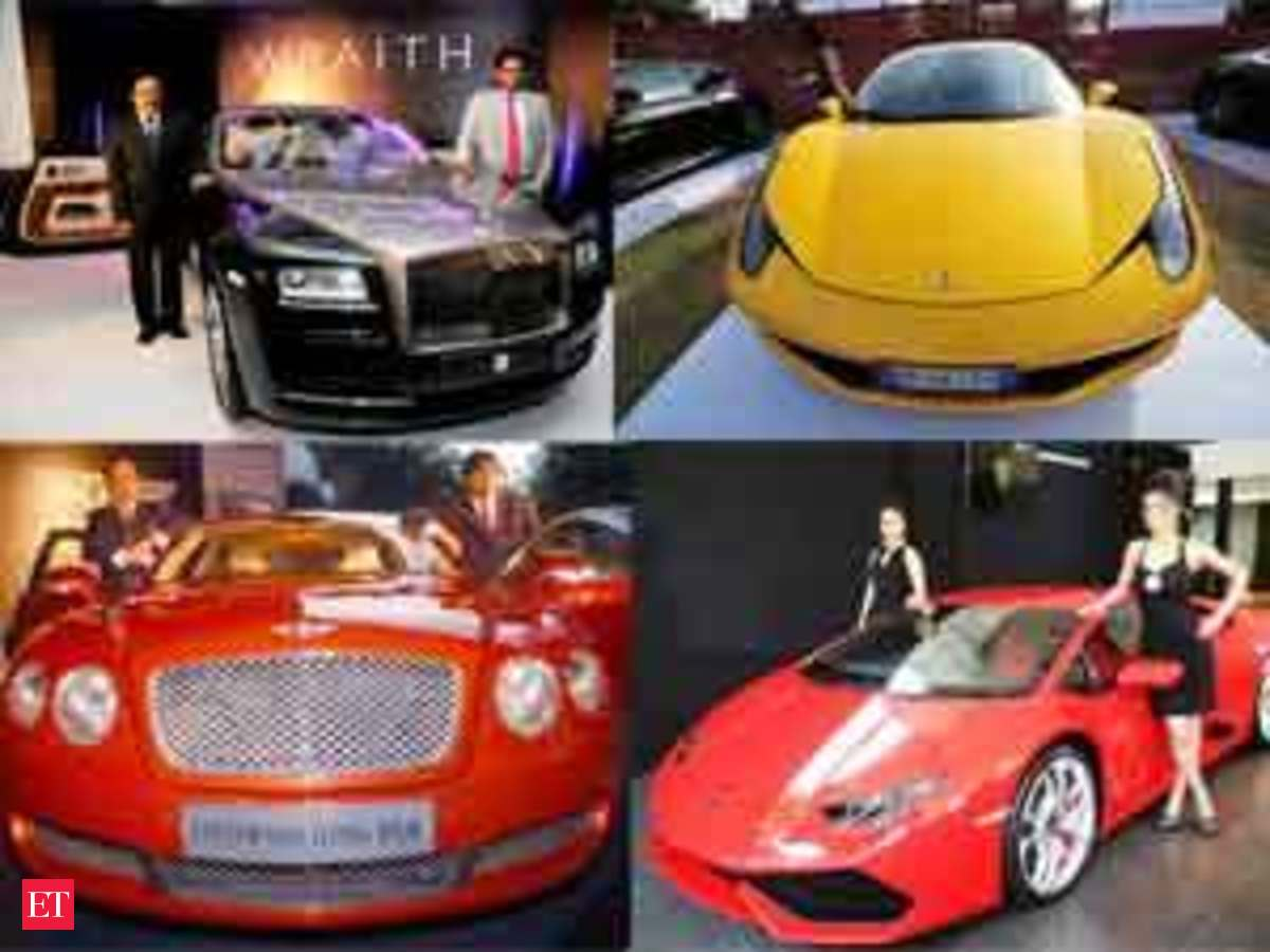 10 most expensive cars available in India - The Economic Times