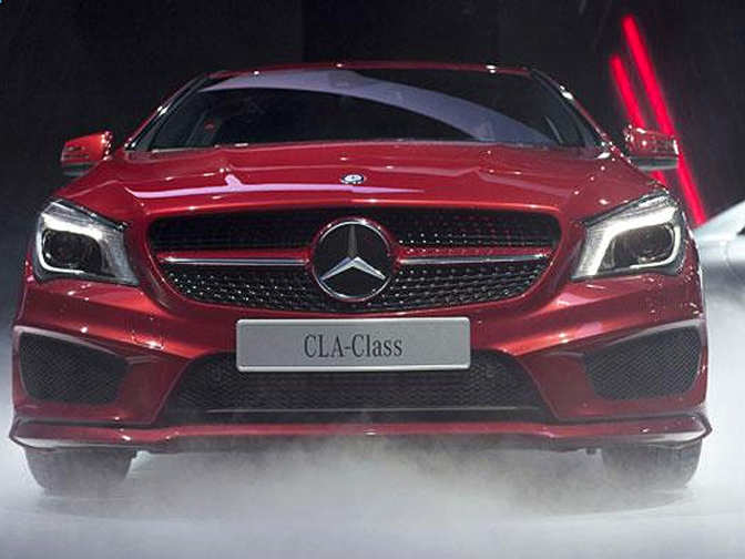 Mercedes benz launches cla class sedan prices start at rs for Mercedes benz starter price