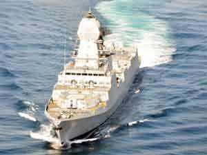 Three Immediate Support Vessels were commissioned into the Indian Navy by Vice Admiral Anil Chopra, Flag Officer Commanding-in-Chief, Western Naval Command.