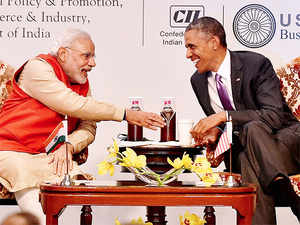 """Obama said the US could be India's """"best partner"""" as he wrapped up a three-day visit by highlighting the shared values of the world's biggest democracies."""