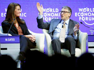Bill Gates Melinda To Partner India For Development Of Women Kids