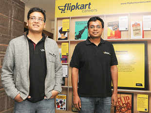 The investment banks have started holding regular briefings with the company's co-founders Sachin Bansal and Binny Bansal in Bangalore.