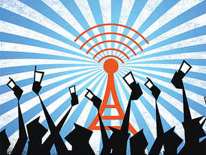 The wireless subscriber base has increased to 93.02 crore in the reported period from 87.05 crore, registering a growth rate of 6.85 per cent.