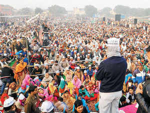 AAP appears to be nosing ahead in these crucial final days, forcing the BJP to yet again revamp its strategy.