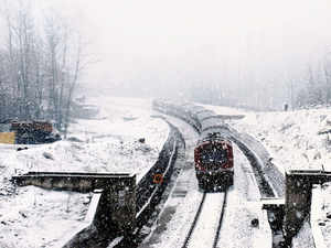 """""""Intermittent snowfall continued for the third day today with Gulmarg recording more than two feet of snow,"""" a MeT department spokesman said."""