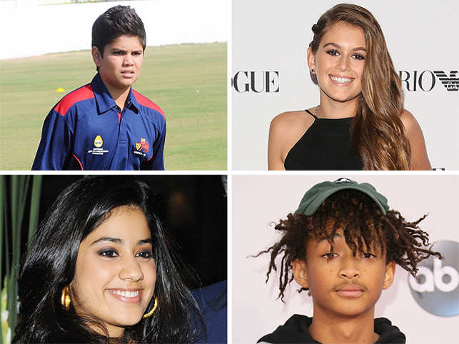 Here's a list of all star kids who are going down their parents' chosen path.