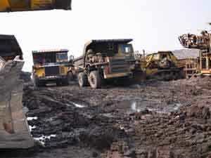 NMDC, country's largest iron ore miner, is also likely to see a reduction in net salesrealisationand a bottom line erosion in the current quarter.