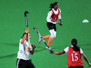 During the tour, the Indian eves will be playing two matches against Spain followed by two against Dutch hockey clubs, GCHC and HDM.