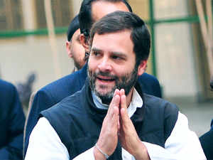 """""""My congratulations to Arvind Kejriwal and Aam Aadmi party for their victory. The people of Delhi have chosen AAP and we respect that"""" Rahul said."""