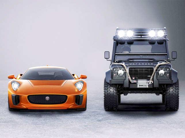 tata motors 39 jaguar land rover to star in new james bond film 39 spectre 39 the economic times. Black Bedroom Furniture Sets. Home Design Ideas