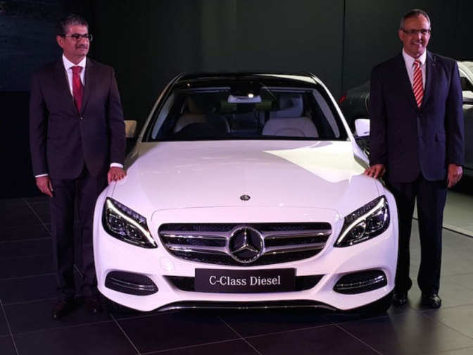 mercedes c class diesel c220 cdi launched in india. Black Bedroom Furniture Sets. Home Design Ideas