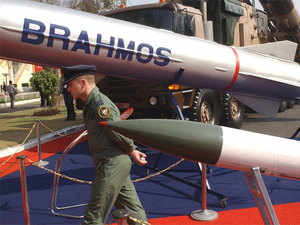 India today successfully test-fired its 290-km range BrahMos supersonic cruise missile from the Navy's newest destroyer INS Kolkata. (File photo)