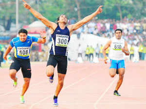 In a sterling performance at home, Kerala finished second with an overall medals tally of 162 -- 54 gold, 48 silver and 60 bronze.