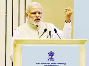 He recalled that as Gujarat chief minister he persisted with the solar powerprogrammeeven as people found it scandalous.