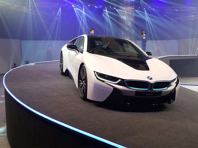 250 Km/h is the top speed - BMW i8 launched in India | The Economic ...