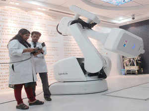 (Representative Image) Amrita Institute of Medical Sciences, Kochi today claimed it has become the first healthcare facility in Asia-Pacific region to use robotic technology.