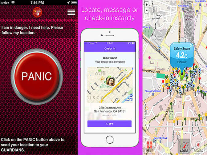 Use these mobile apps for your safety - The Economic Times