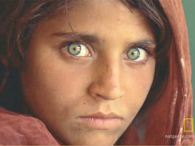 National Geographic 'Afghan girl' living in Pakistan on fake