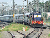 Shares of companies related to Railways extended overnight losses as traders booked profits ahead of the Railway Budget.