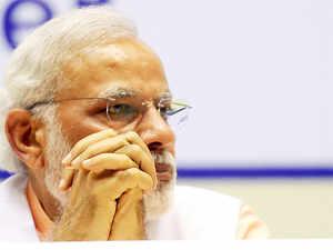 """Congress accused NDA government of discontinuing MNREGA, Modi said,  """"MNREGA will continue; it is a living example of Congress' failure."""""""
