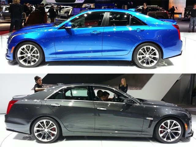 Cadillac Ats V Cadillac Ats V Cts V Launched At Geneva Auto Show