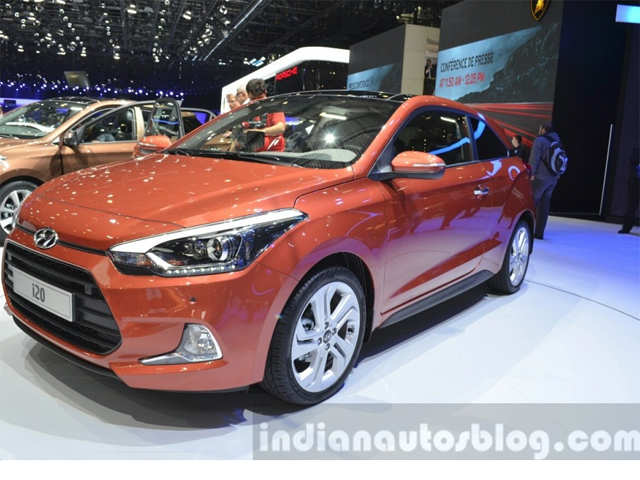 Engine Options 2015 Hyundai I20 Coupe Showcased At Geneva Auto