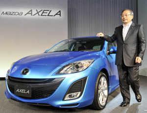 Mazda3 compact car launch Ford cars Ford Fiesta Honda Civic Hybrid  Honda's Insight hybrid