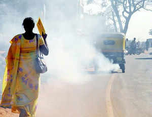 Serious concern was raised today in Rajya Sabha over the rising air pollution in Delhi, with a Congress member saying that many countries have reduced the tenure of their diplomats here due to the problem.