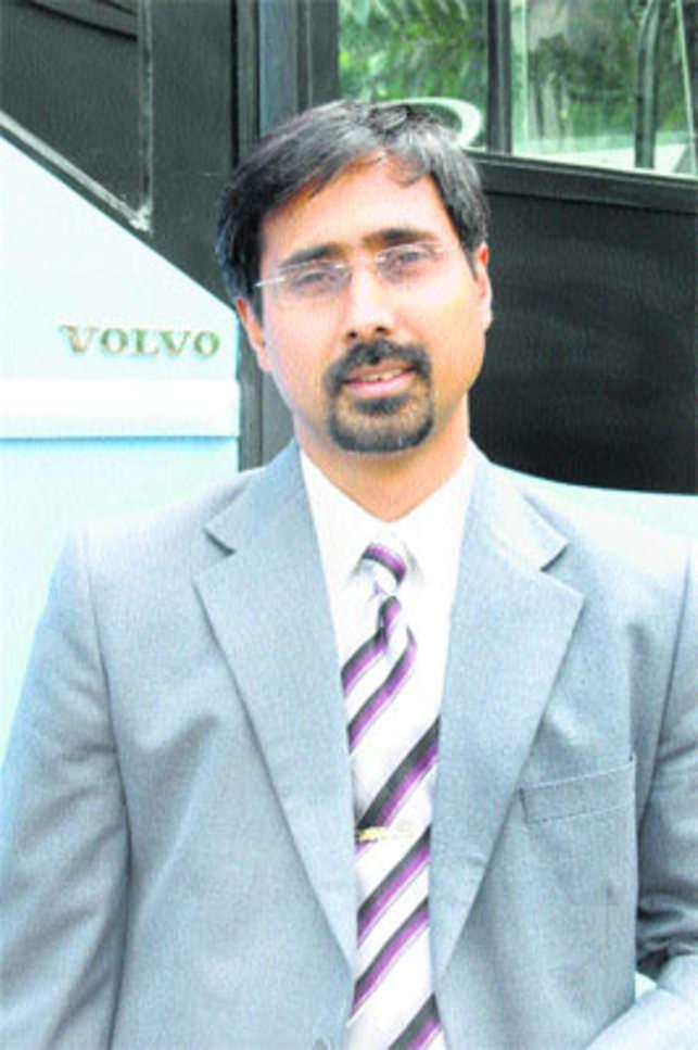 Akash Passey, MD, Volvo Buses India