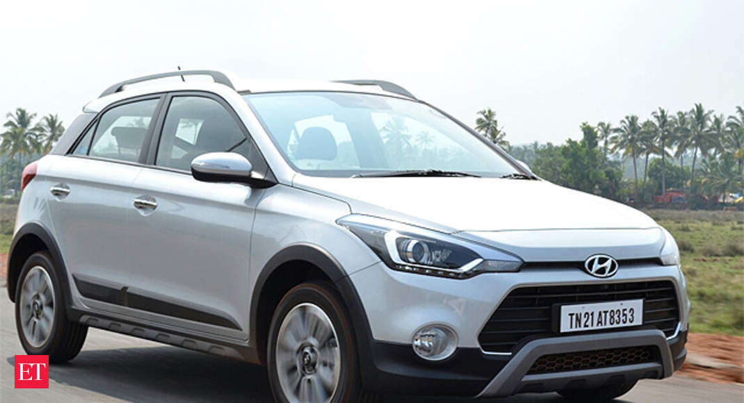 Length Height Hyundai I20 Active First Drive Review The Economic Times